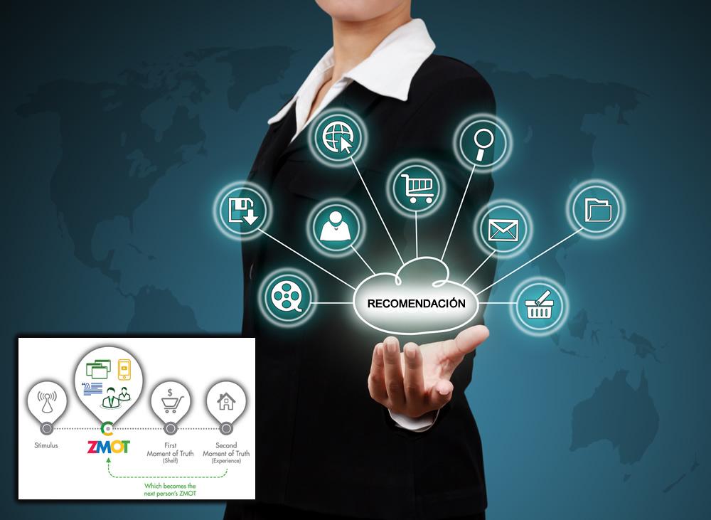 El poder de la recomendación, la transformación digital